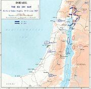 1967 Six Day War - Battle of Golan Heights