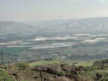 נוף עמק הירדן