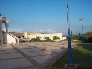 La piazza hosaia