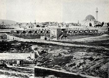 800px-PikiWiki Israel 68002 the city of acre 1877מבט על אתרים בעיר עכו