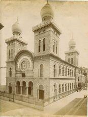 Brogi, Carlo (1850-1925) - n 8098 - Torino - Tempio israelitico - Architetto Enrico Petiti