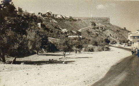 Temple Mount 1967 fronm the south