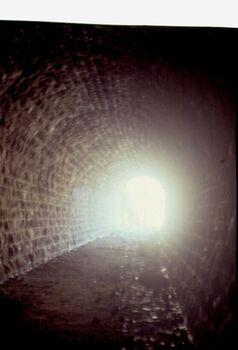 מנהרת הרכבת בשומרון 1982