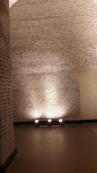 תמונות ממוזיאון השואה בפוסולי