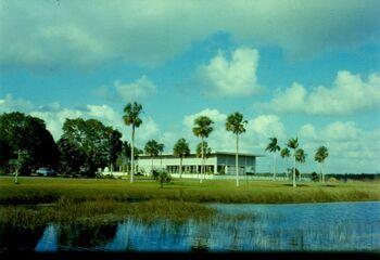 Everglades nationa park visitor center