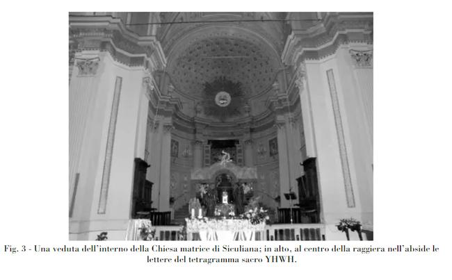 פנים בית הכנסת עם שם נשם