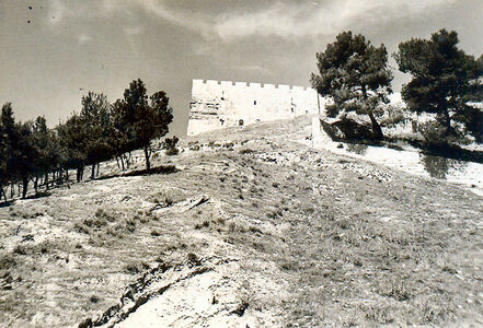 View of south-east corner of har habait