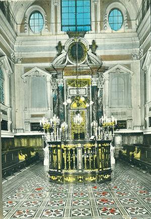 La sinagoga Siena interno 02