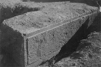 ירושלים - אחת מאבני החומה השלישית-JNF016197