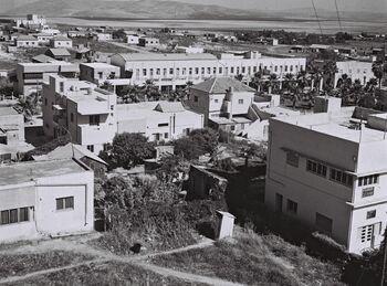 VIEW OF AFULA. העיר עפולה.D839-044