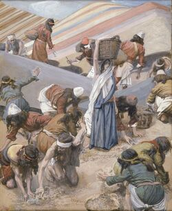Tissot The GatherinשAg of the Manna (color)