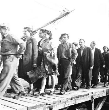 עולי לה ספציה - האוניות דב הוז ואליהו גולומב בנמל חיפה-ZKlugerPhotos-00132ow-090717068513605d