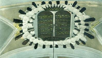 La sinagoga Siena interno 03