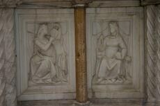 Perugia - Fontana Maggiore - 2 - Arti liberali - 7 - Astrologia la Filosofia - Foto G DOrto 5 ago