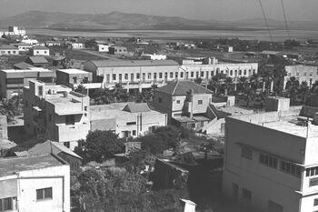 VIEW OF AFULA. העיר עפולה.D25-023