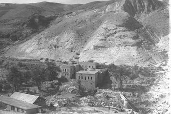 THE FLOUR MILL IN WADI KELT. תחנת הקמח במדבר יהודה.D30-112
