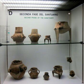 Seconda phase of the santuary 1