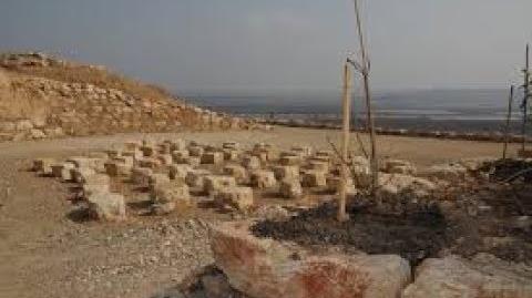 """""""עקבות בעמק"""" - מערכת המחצבות שספקה אבן לבניית העיר הרומית והביזנטית, ניסה - סקיטופוליס, בית שאן"""