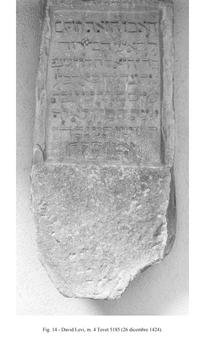 מצבה משנת 1424