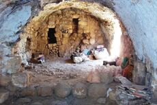 Tomb of Yiahai and Ruth new Excavations could be an ancient synagogue2