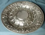 Silver Rose Water Dish