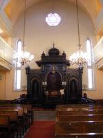 Istanbul Ashkenazi Sinagogue Interior