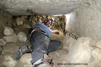 פינת הקברים התל שומרון