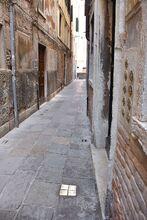 Stolperstein in Venedig