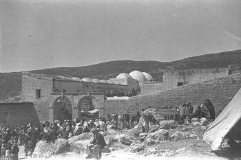THE LAG BA'OMER HOLIDAY NEAR THE TOMB OF RABBI SHIMON BAR YOHAI, ON MOUNT MERON IN THE UPPER GALILEE. חגיגות ל ג בעומר בקברו של רבי שמעון בר יוחאי ב