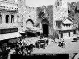מגדל השעון בשער יפו ירושלים
