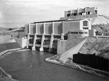 נהרים - מפעל רוטנברג, תחנת הכוח.-JNF044516