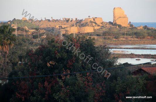 מבצר עתלית ננטש עי הצלבנים ב1291