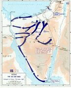 1967 Six Day War - conquest of Sinai 7-8 June