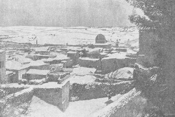 Jerusalem in Winter, Palestine, 1893