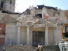 L'Aquila eathquake prefettura