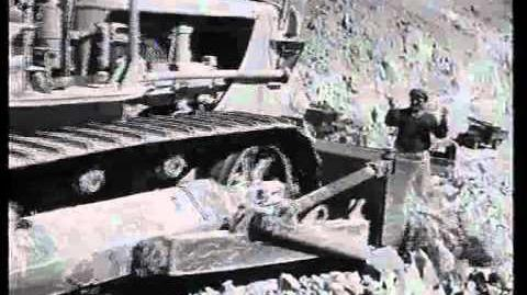 סלילת_כביש_סדום_-_כורנוב_1953