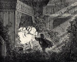 La Belle au Bois Dormant - Sixth of six engravings by Gustave Doré.jpg