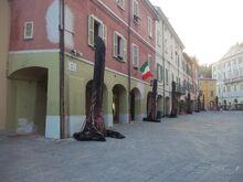 Brisighella center of the city