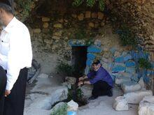 נקבת מים בסמוך למערת הקבר רבי משה בן מכיר