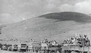 טירת צבי - העליה לטירת צבי-JNF029095