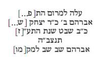 אברהם 1717