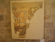 PikiWiki Israel 14995 Mosaic of David playing the harp