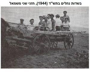 The first days of Nechalim 2