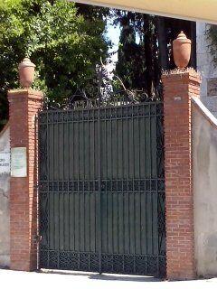 Cimiterio ebraico di pisa 2014 la porta 0