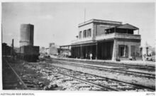 Jerusalem railway statiom 1918