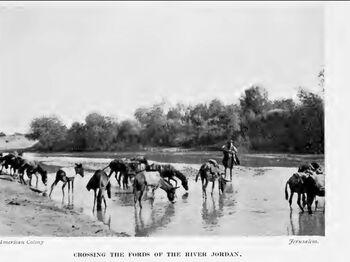 Jorden river 1913