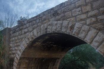 הקשת הצפונית בגשר נחל שקמה (דיר סנייד)