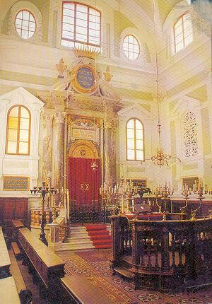 La sinagoga Siena interno 04
