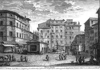 Piazza Giudia - Plate 29 - Giuseppe Vasi