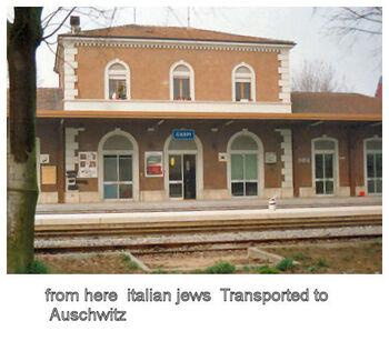Train station of Carpi